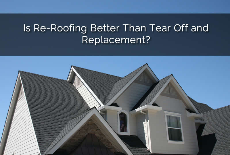 re roofing and tear off and replacement