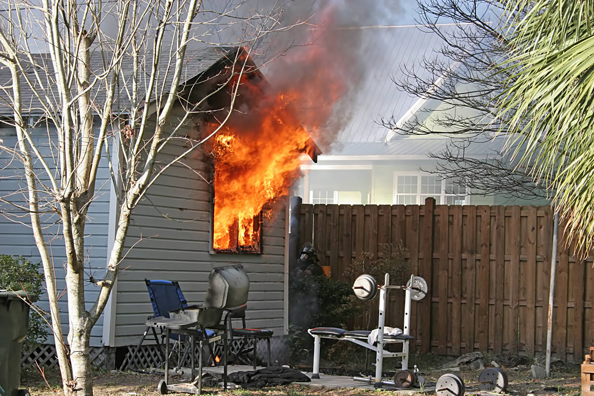 What to Do When Your Home is Damaged by Fire in Michigan