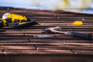 Tools of Roofer in Southgate Michigan
