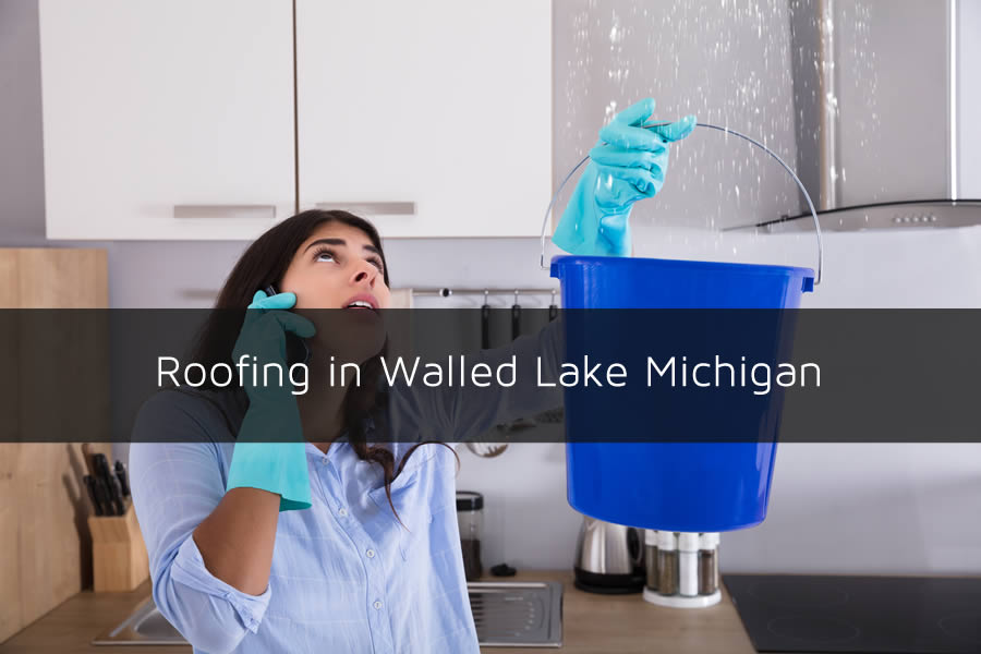 Roofing in Walled Lake Michigan