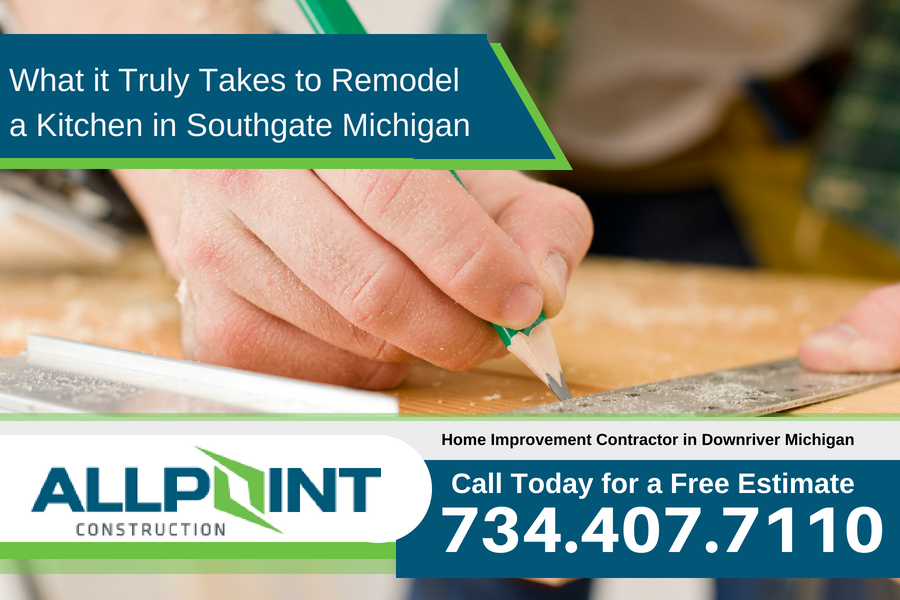 What it Truly Takes to Remodel a Kitchen in Southgate Michigan