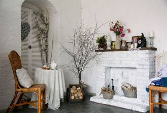 Unused Fireplace Ideas