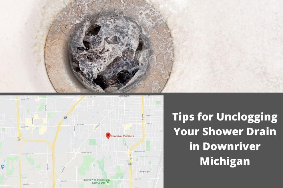 Tips for Unclogging Your Shower Drain in Downriver Michigan