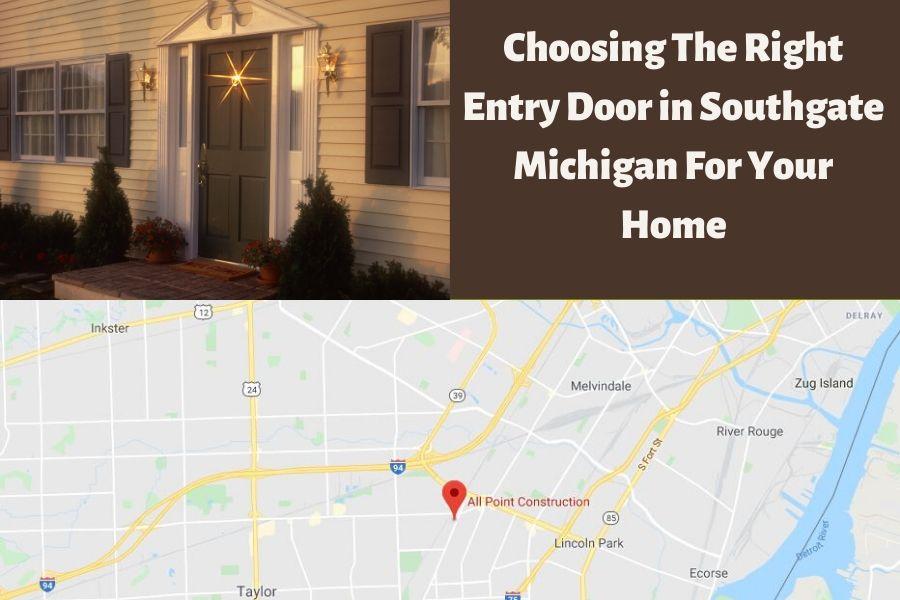 Entry Door Southgate MI